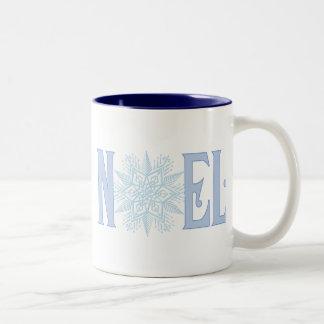 NOEL雪片 ツートーンマグカップ