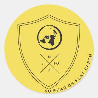 #NOFEARONFLATEARTH TAG1のステッカー ラウンドシール