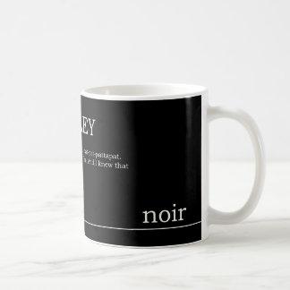 Noir抄録のマグ コーヒーマグカップ