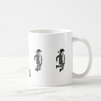 noir探偵のマグを跳ぶsionco コーヒーマグカップ