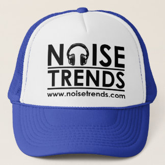 NOISEtrendsのロゴのトラック運転手の帽子 キャップ