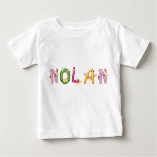 NolanのベビーのTシャツ ベビーTシャツ