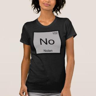 Nolan一流化学要素の周期表 Tシャツ