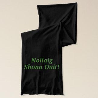 Nollaig Shona Duit! アイルランドのgfのメリークリスマス スカーフ