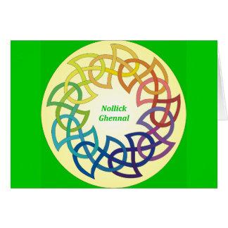 Nollick Ghennal - Manxクリスマスカード カード