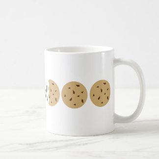 """""""Nom"""" Chocの破片のクッキー コーヒーマグカップ"""