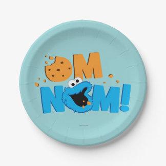 Nom Nomのクッキー ペーパープレート