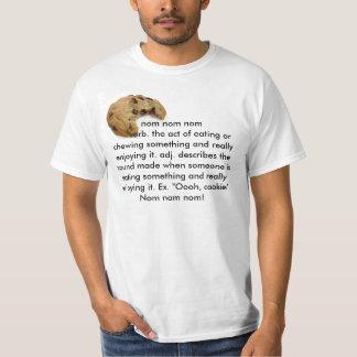Nom Nom Nom! Tシャツ