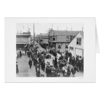 Nomeのアラスカ7月4日パレード1915年 カード