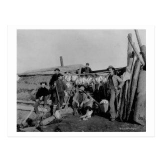 Nomeのライチョウを捜した後クロンダイクの人 ポストカード
