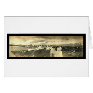 Nome都市AKパノラマの写真1899年 カード