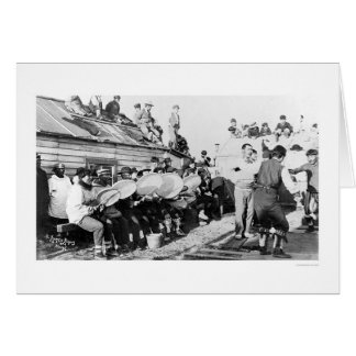 Nome、アラスカ1914年のエスキモーの正式ダンス カード