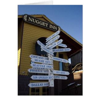 Nome Milepost カード