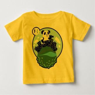 Nommyの町のボーダー ベビーTシャツ