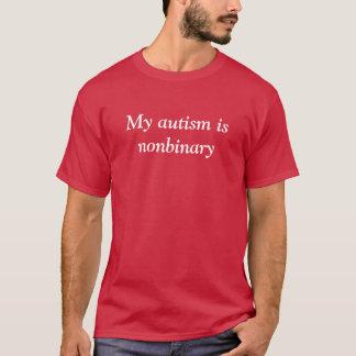 Nonbinaryの自閉症 Tシャツ