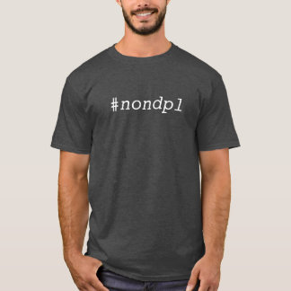 #nondpl tシャツ