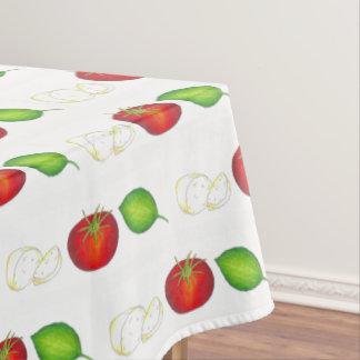 Nonnaのイタリアンな台所モツァレラのトマトのベズル テーブルクロス