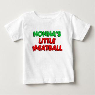 Nonnaの少しミートボール ベビーTシャツ