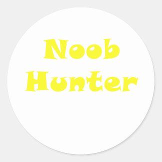 Noobのハンター ラウンドシール