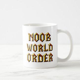 Noobの世界秩序 コーヒーマグカップ