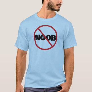NOOBの円のスラッシュ(黒) Tシャツ