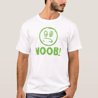 NOOBの文字の頭部G Tシャツ