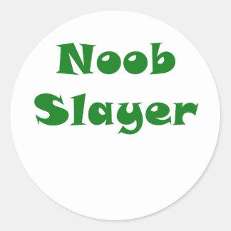 Noobの殺害者 ラウンドシール