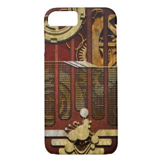 Noojo SteamPunkのパイロット iPhone 8/7ケース