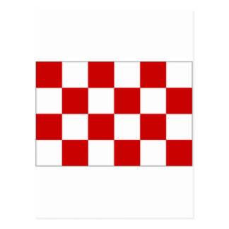Noordネザーランドブラバントの旗 ポストカード