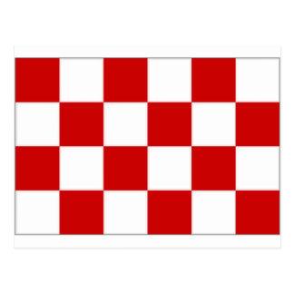 Noordブラバントのネザーランド旗 ポストカード