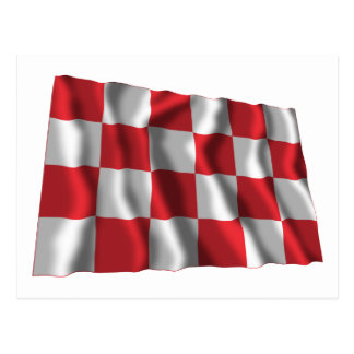 Noordブラバントの振る旗 ポストカード