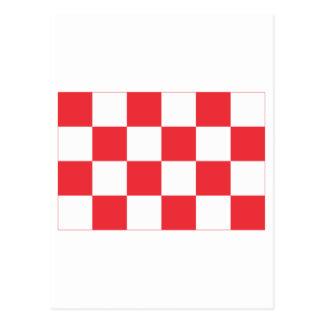 Noordブラバントの旗 ポストカード