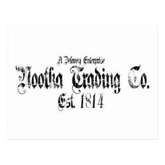 nootkaの取引 ポストカード