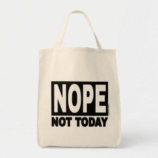 NOPE今日 トートバッグ