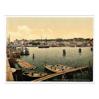 Nordenhofendenstrasse、Flensburg、Schleswig-Holste ポストカード