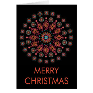 NORDIC FOLKSY CHRISTMAS CARD カード