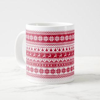 Nordic - Scandinavian Christmas Jumbo MugV2 ジャンボコーヒーマグカップ