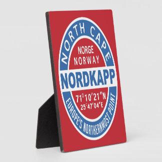 NORDKAPPノルウェーのプラク フォトプラーク