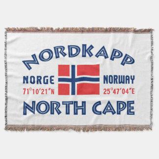 NORDKAPPノルウェーの投球毛布 スローブランケット