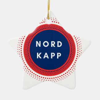 Nordkappノルウェー セラミックオーナメント