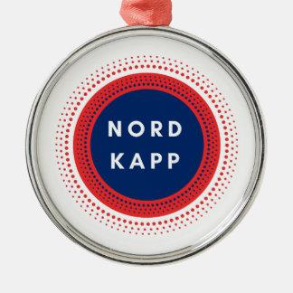 Nordkappノルウェー メタルオーナメント