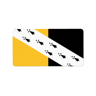 Norfolk郡、イギリスのの旗ラベル ラベル