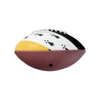 Norfolk郡、イギリスのの旗小型フットボール アメリカンフットボール