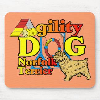 Norfolk_Terrier_Agility マウスパッド