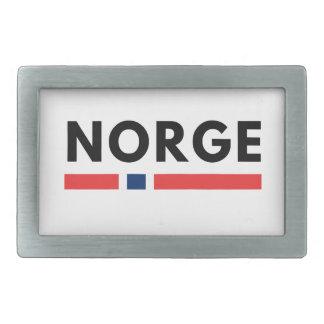 Norge 長方形ベルトバックル