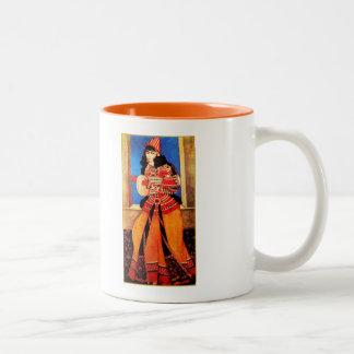 Noroozムバラク。 ペルシャの新年のギフトのマグ ツートーンマグカップ