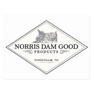 Norrisのダムのよいプロダクト ポストカード