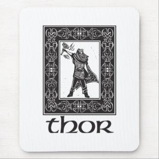 Norseの神のトール マウスパッド