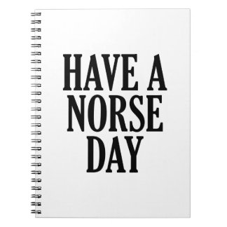 Norse日を過して下さい ノートブック