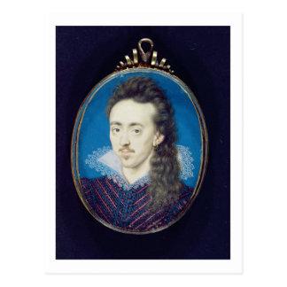 North 1608-10年Dudleyの北の(1581-1617年の)第3男爵 ポストカード